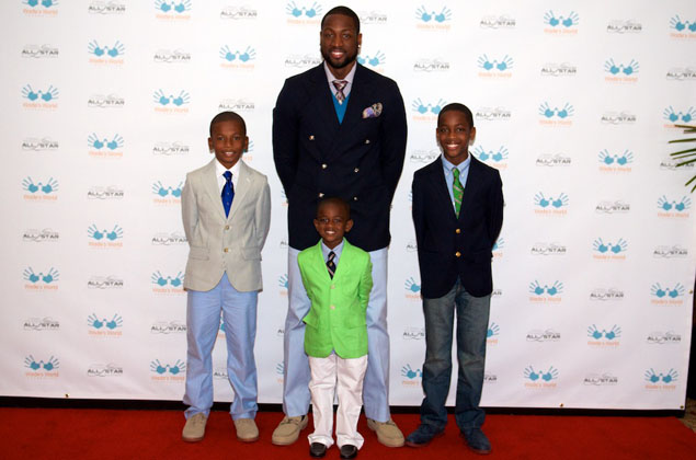 LeBron James and Dwyane Wade Talk Fatherhood with Life of
