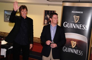 Guinness Raises A Glass In Honor Of The Leary Firefighters Foundation During A Special Event