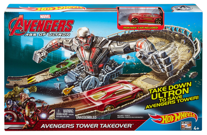 Hot Wheels Assembles A New Line Of Avengers Toys Life Of