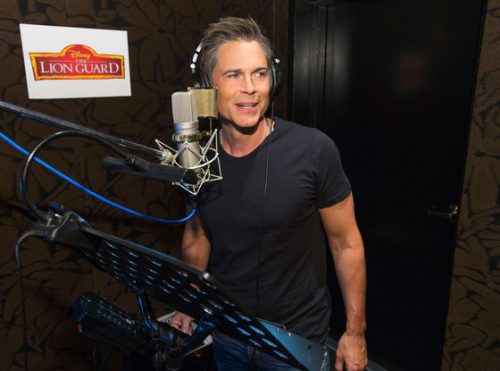 Rob Lowe voicing the role of Simba