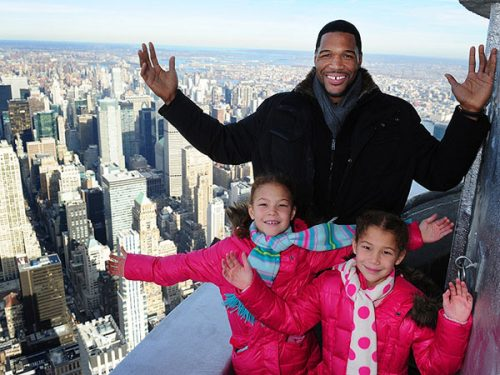 strahan and daughters