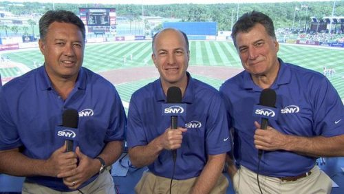 Ron and his colleagues on SNY.