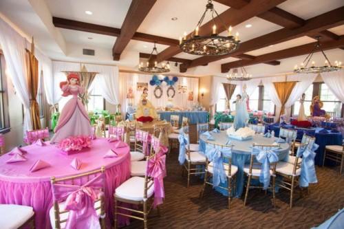 Disney Princess Birthday Party Decoration Idea