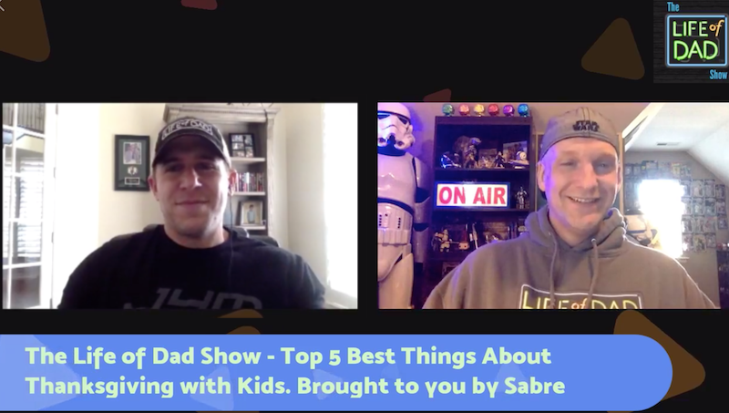 The Life of Dad Show – Top 5 Best Things About Thanksgiving with Kids