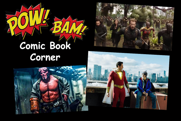 Geek Corner - April Has A Superhero Movie For Everyone